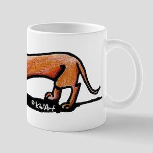Lil' Red Dachsie Mug