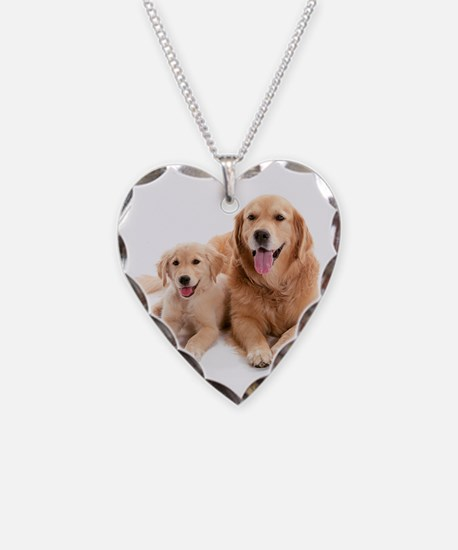 Golden retriever buddies Necklace