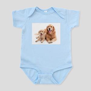 Golden retriever buddies Infant Bodysuit