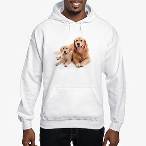 Golden retriever buddies Hooded Sweatshirt