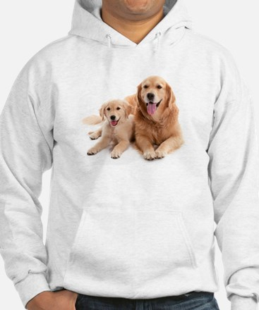 Golden retriever buddies Hoodie Sweatshirt