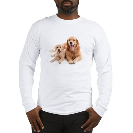 Golden retriever buddies Long Sleeve T-Shirt