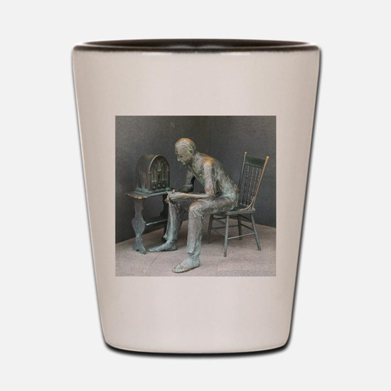 FDR Fireside Chat Shot Glass