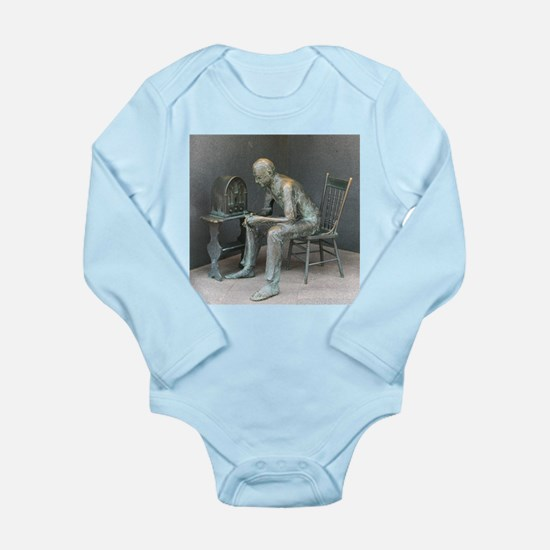 FDR Fireside Chat Long Sleeve Infant Bodysuit