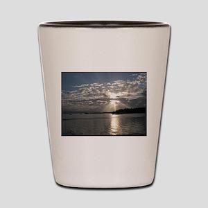 Bocas del Toro Sunset Shot Glass