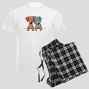 Pocket Doxie Duo Men's Light Pajamas