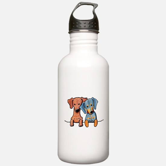 Pocket Doxie Duo Water Bottle