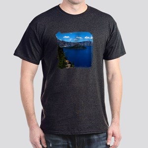 Crater Lake Wizard Island Dark T-Shirt