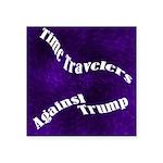 Time Travelers Against Trump Sticker