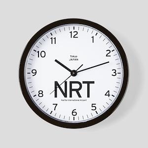 Tokyo NRT Airport Newsroom Wall Clock