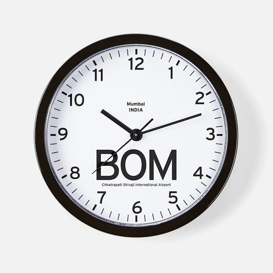 Mumbai BOM Airport Newsroom Wall Clock