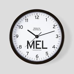 Melbourne MEL Airport Newsroom Wall Clock