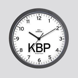 Kiev KBP Airport Newsroom Wall Clock