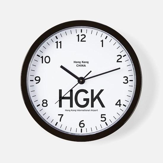 Hong Kong HGK Airport Newsroom Wall Clock