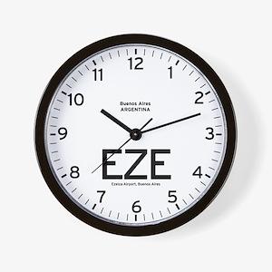 Buenos Aires EZE Airport Newsroom Wall Clock