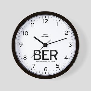 Berlin BER Airport Newsroom Wall Clock