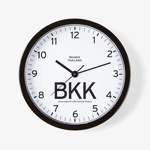 Bangkok BKK Airport Newsroom Wall Clock