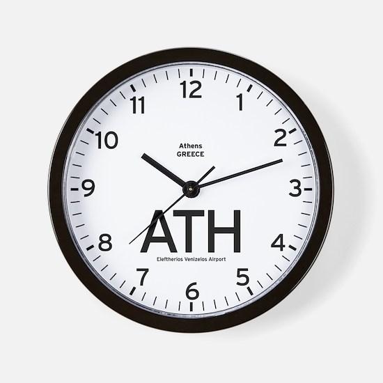Athens ATH Airport Newsroom Wall Clock