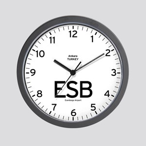 Ankara ESB Airport Newsroom Wall Clock