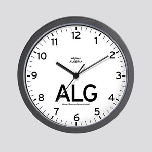 Algiers ALG Airport Newsroom Wall Clock