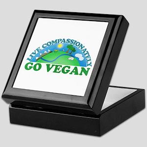 Live Compassionately Keepsake Box