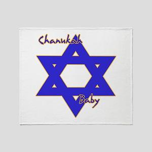 Chanukah Baby Throw Blanket