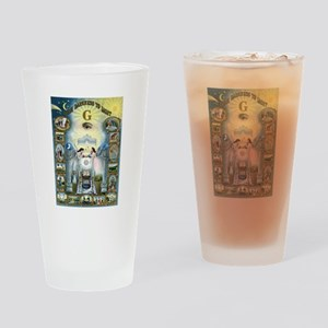 Darkness To Light Drinking Glass