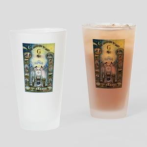 Darkness To Light Drinking Glass