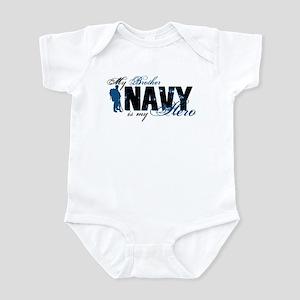 Bro Hero3 - Navy Infant Bodysuit