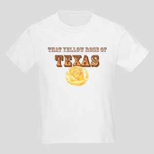 yellow rose of TEXAS Kids Light T-Shirt