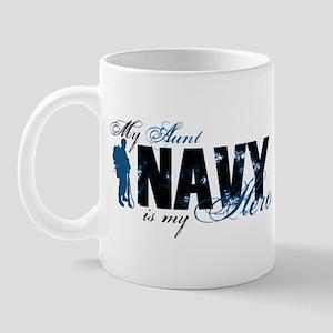 Aunt Hero3 - Navy Mug