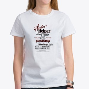 Hunter's Helper - White (1) Women's T-Shirt