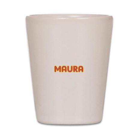 Maura in Movie Lights Shot Glass