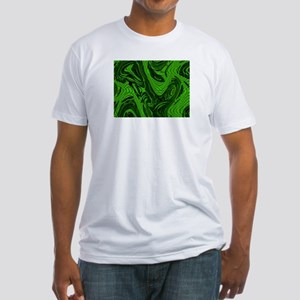 Abstract Fitted T-Shirt