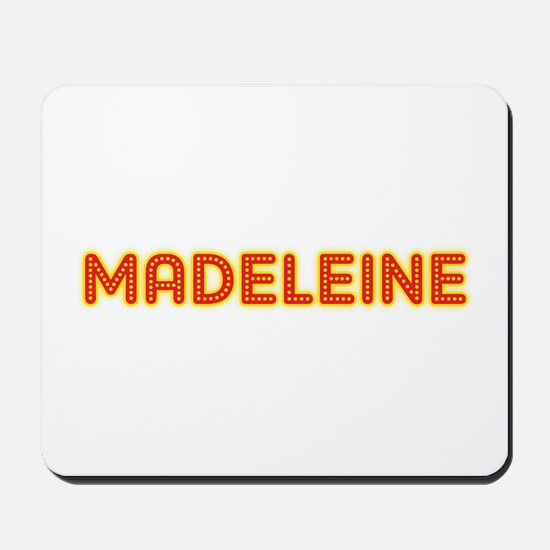 Madeleine in Movie Lights Mousepad