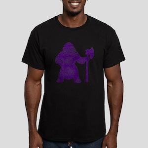 Vintage, Viking Men's Fitted T-Shirt (dark)