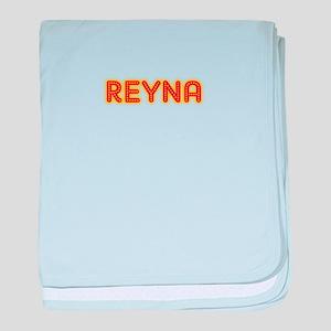 Reyna in Movie Lights baby blanket