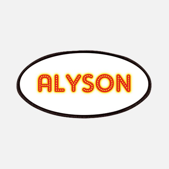 Alyson in Movie Lights Patches