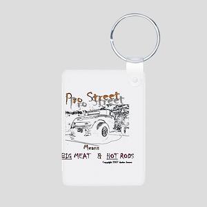 PRO Street Aluminum Photo Keychain