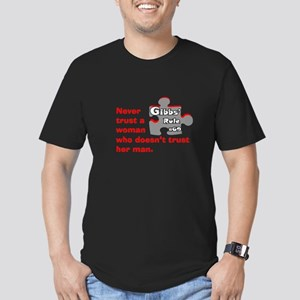 Gibbs' Rule #69 Men's Fitted T-Shirt (dark)