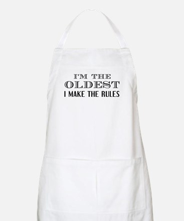 I'm The Oldest Light Apron