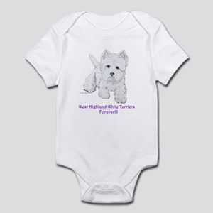 Westies Forever!! Infant Creeper