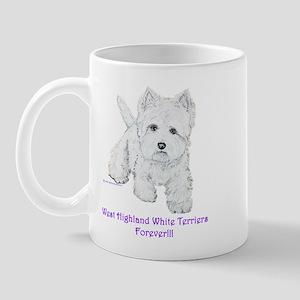 Westies Forever!! Mug
