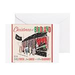 Christmas At Birdland Greeting Cards