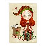 Jollybelle Christmas Elf Small Poster
