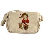 Jollybelle Christmas Elf Messenger Bag