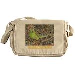 Westren ground parrot Messenger Bag