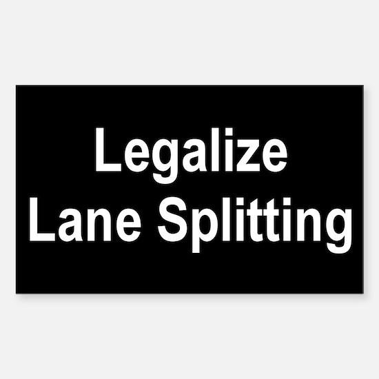 Legalize Lane Splitting Decal