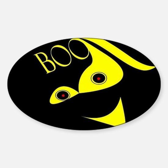 Jmcks Boo Sticker (Oval)