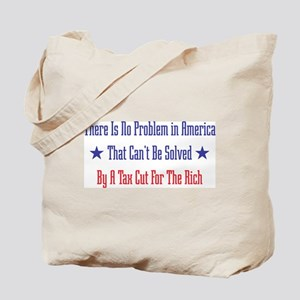 Tax Cut For Rich Tote Bag